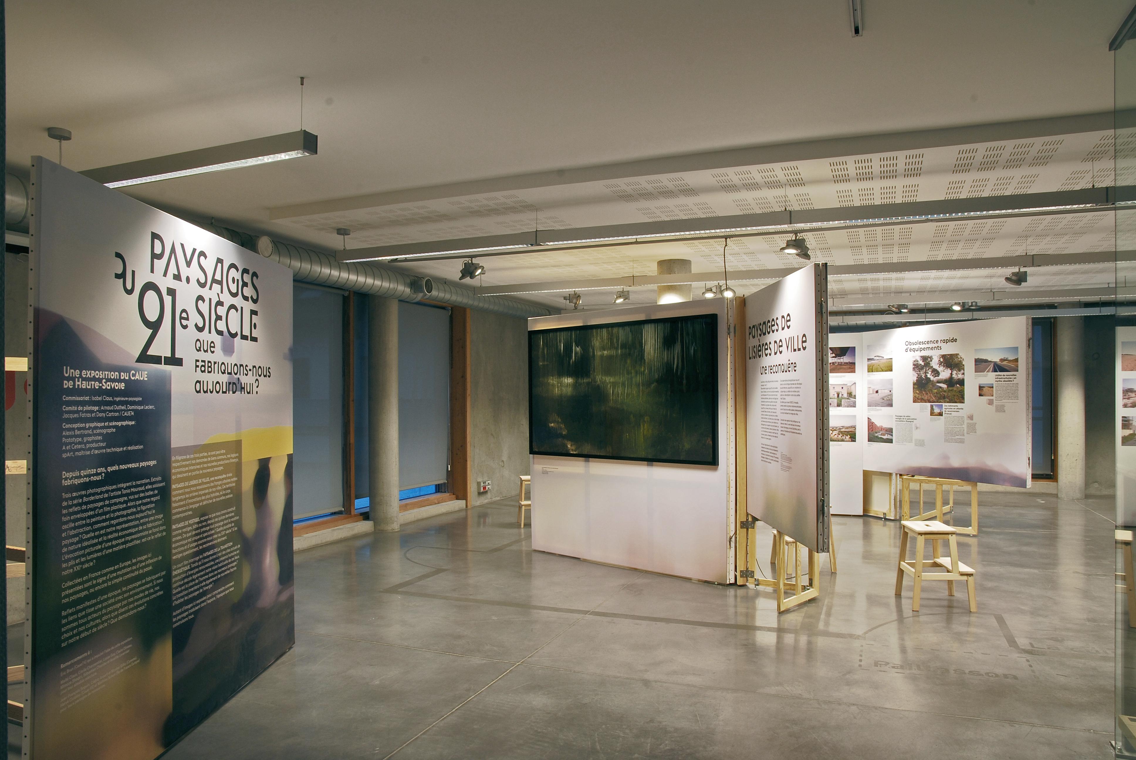 Exposition : «Paysages du XXIème siècle, que fabriquons-nous aujourd'hui?»